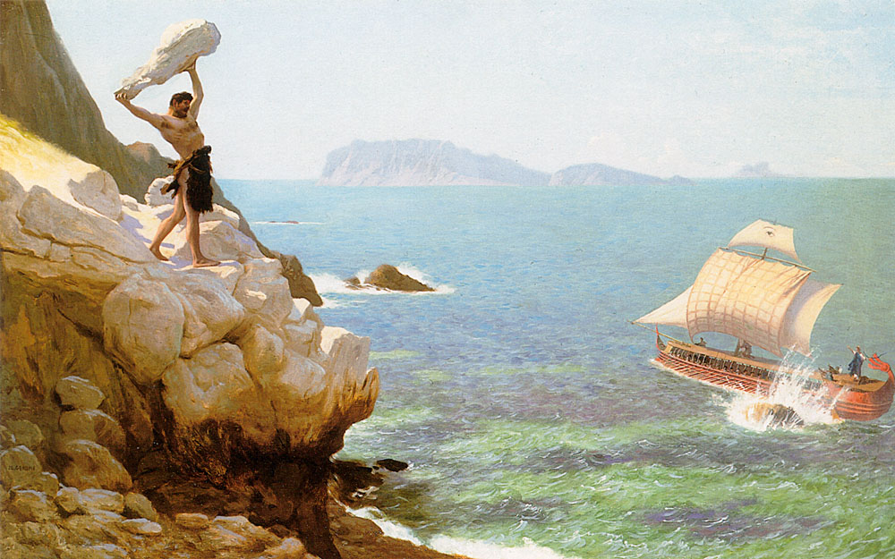 картинки полифем на острове циклопов